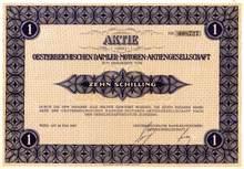 Daimler Motors ( Mercedes ) Austria Stock Certificate 1927