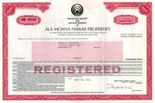 Ala Moana Hawaii Properties - Hawaii