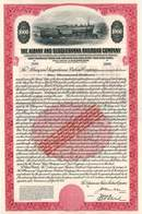 Albany and Susquehanna Railroad Company 1906 - Gold Bond