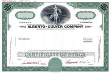 Alberto - Culver Company