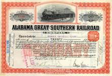 Alabama Great Southern Railroad 1906