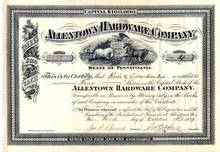 Allentown Hardware Company 1889