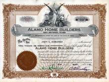 Alamo Home Builders - San Antonio, Texas