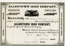 Allentown Iron Company 1873
