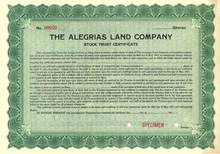Alegrias Land Company