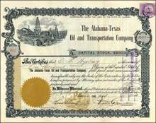 Alabama-Texas Oil and Transportation Company 1902