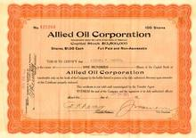Allied Oil Corporation