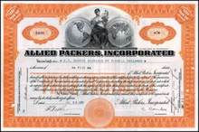 Allied Packers, Incorporated 1922 ( Now Sara Lee )