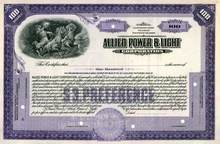 Allied Power & Light Corporation ( Early Commonwealth & Southern Corporation )