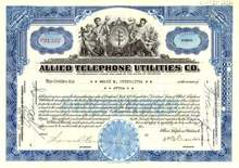 Allied Telephone Utilities Company 1932