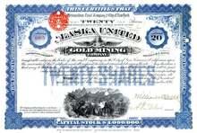 Alaska United Gold Mining Company 1895