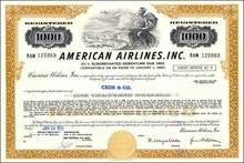American Airlines - Delaware 1978 - 4 1/2% Convertible Debenture