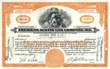 American Austin Car Company, Inc. 1930