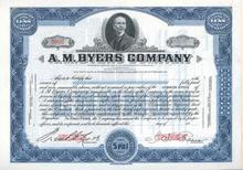 A.M. Byers Steel Company 1920's