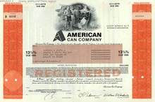 American Can Company 13 1/4 % Bond