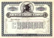 American Caramel Company 1900 - Company funded Milton Hershey's Chocolate Business