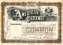 American Caramel Company - Philadelphia, PA 1898 ( Started Milton Hershey's Chocolate Company )