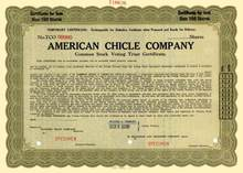 American Chicle Company ( Famous Gum Company )