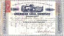 American Coal Company of Allegany County 1869