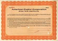 American Cuptor Corporation