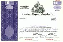 American Export Industries, Inc.
