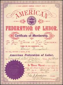 American Federation of Labor - 1902