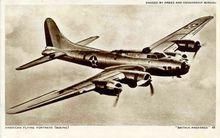 American Flying Fortress (Boeing) WW ll