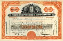 American Founders Corporation