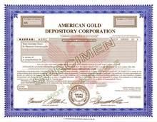 American Gold Depository Corporation