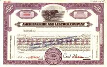 American Hide and Leather Company ( Early Radio Shack Company )