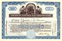 American Natural Gas Corporation 1929
