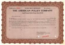 American Pulley Company