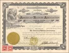 American Radium Association 1916
