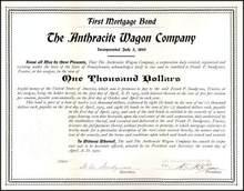 Anthracite Wagon Company 1900 - Pennsylvania