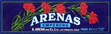 Arenas Emperors Label