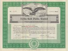 Arriba Gold Fields, Ltd. Colorado 1929