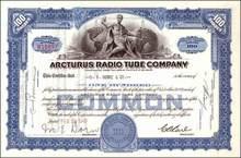 Arcturus Radio Tube Company 1940