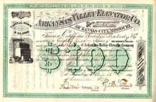 Arkansas Valley Elevator Company 1878