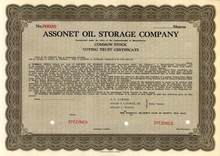 Assonet Oil Storage Company - Massachusettes