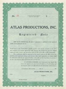 Atlas Productions - Note 195_