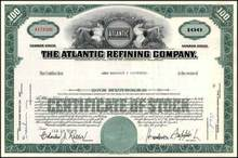 Atlantic Refining Company - Old Logo in Vignette