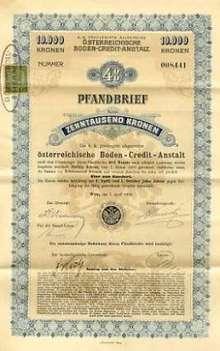 Austrian Bond 1906