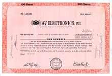 AV Electronics, Inc.
