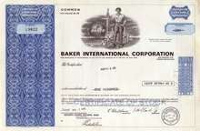 Baker International Corporation 1970's