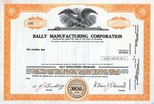 Bally Manufacturing Corporation ( Early Park Place Entertainment Company)