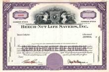 Beech - Nut Life Savers, Inc.