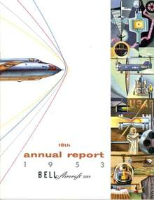 Bell Aircraft Corporation Annual Report 1953