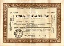 Bendix Helicopter, Inc. 1945