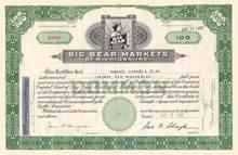 Big Bear Markets - Bear Vignette