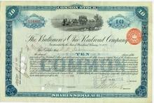 Baltimore and Ohio Railroad Company Tom Thumb Train Vignette